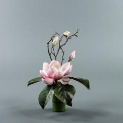 Bambou S - Magnolia ouvert fushia (79851)