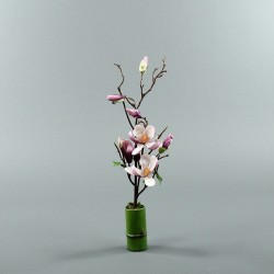 Bambou S - Magnolia semi-ouvert fushia (79837)