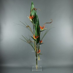 Flat XL - Bird of paradise, branches 180cm