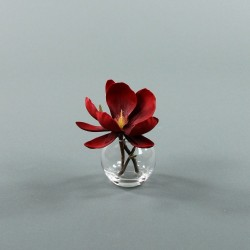 Boule S - Magnolia rouge