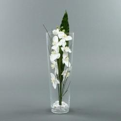 Conic L - Orchidée blanche
