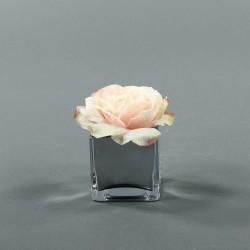 Cube S Silver - Rose Duchesse Rose