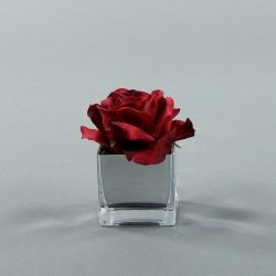 Cube S silver - Rose Duchesse Rouge Noël