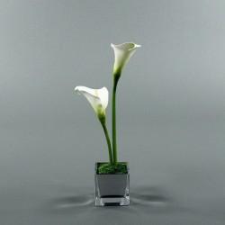Cube S silver - Arum Blanc