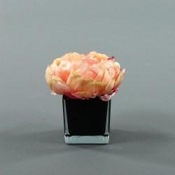 Cube S black - Pivoine Corail