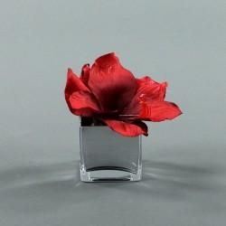 Cube S silver - Amaryllis Rouge
