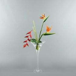Martini M - Oiseau de paradis, Pendula rouge