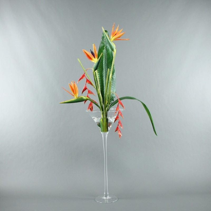 coupe martini oiseau de paradis pendula 136cm. Black Bedroom Furniture Sets. Home Design Ideas