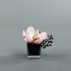 Cube M black - Magnolia rose