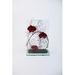 Para Glass - Orchidée rouge