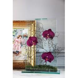 Para Glass - Orchid fushia