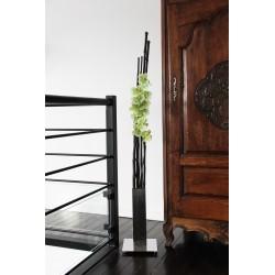 Chrome XL - Bambous noir - Orchidée vert
