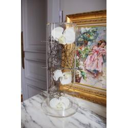 Cristal Curve - Splint - Orchidée blanc