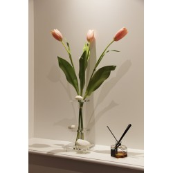 Lumi Flat MM - Tulipe rose 81cm (x3)