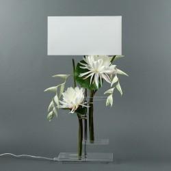 Flat L - Lotus blanc, Pendula blanc