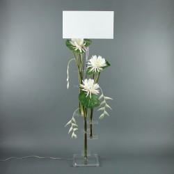 Flat XL - Lotus blanc, Pendula blanc, pod