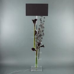 Flat XL - Arum pourpre, Branche de baies pourpre