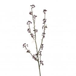Branche de baies 108cm - Pourpre