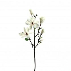 Magnolia branche avec feuilles 109cm - Champagne