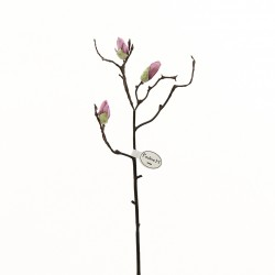 Magnolia branche de boutons 53cm - Fushia