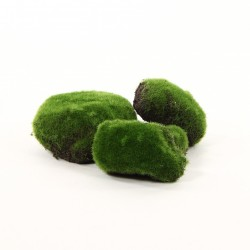 Mousse assortiment de 4 boules - Vert