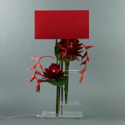 Flat L - Lotus rouge, Pendula rouge