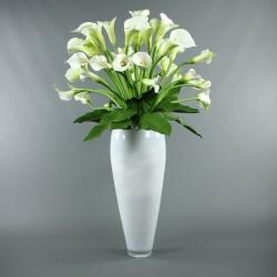 Vase Blanc - Arums blancs