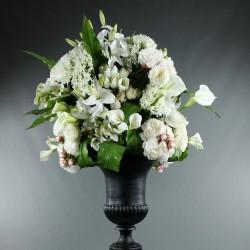 Medicis XXL - Arum, Pivoine, Agapanthe, Lys, Hortensia, Tulipe blanc