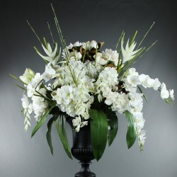 Medicis XXL - Orchidée, Heliconia Pendula, Magnolia, Lotus