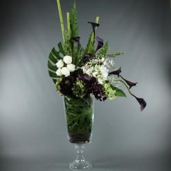Gobelet XL - Hortensia, Orchidée, Rose, Feuilles exotiques