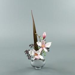 Moon silver S - Magnolia fushia (77833)