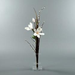 Flat S - Magnolia blanc, Pussy Willow (78960)