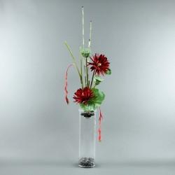 Exotic Aqua XL - Pendula rouge, Lotus rouge, pod