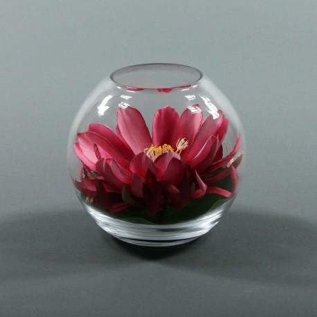 Boule M - Lotus fushia