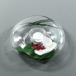 Satellite M - Orchidée blanc