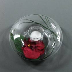 Satellite M - Orchidée rouge