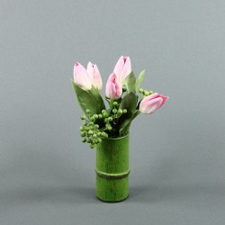 Bambou S - Tulipe rose