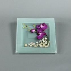 Dessous de plat - Fleuron d'Orchidée fushia
