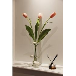 Lumi Flat MM - Tulipe rose 81cm (x3)