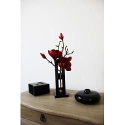 Lumi Cristal PM Black - Magnolia rouge