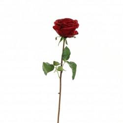 Rose Equatoriale 52cm - Rouge Noël